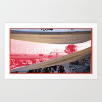 madrid Art Prints featuring Madrid by jacky_f