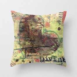 Permission Series: Divine Throw Pillow