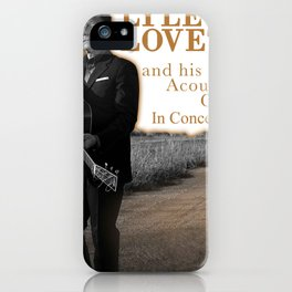 LYLE LOVETT TOUR 2020 iPhone Case