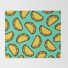 It's Taco Time! Throw Blanket