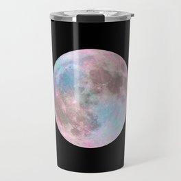 Iridescent Dark Moon Travel Mug