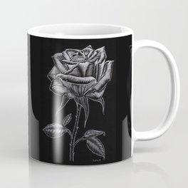 Silver Rose Coffee Mug