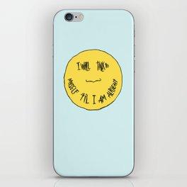 YELLOW OSTRICH iPhone Skin