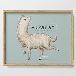 Alpacat Serving Tray