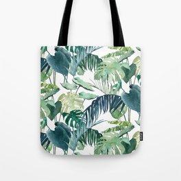 Botanical Palm Tote Bag