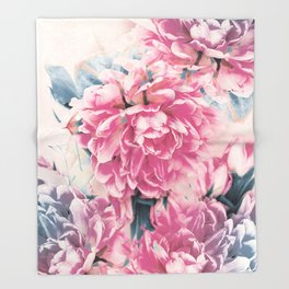 beautiful flowers Throw Blanket