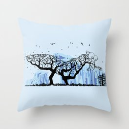 Scrat Tree Throw Pillow
