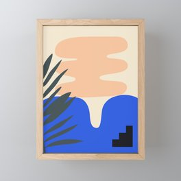Shape study #14 - Stackable Collection Framed Mini Art Print