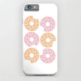 Six Sprinkled Donuts iPhone Case
