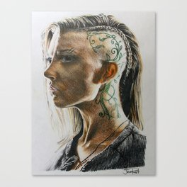 MJ Part 1 - Cressida Drawing Canvas Print