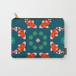 KOI CIRCLE Carry-All Pouch