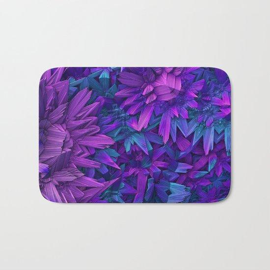 Purple Jungle Bath Mat