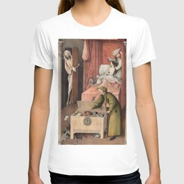Hieronymus Bosch - Death and the Usurer T-shirt