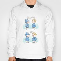 bucky barnes Hoodies featuring Hats - Steve Rogers and Bucky Barnes  by BlacksSideshow