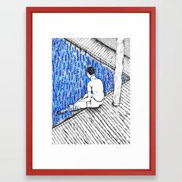Blue Boy Framed Art Print