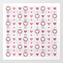 Pink hearts by cocodes