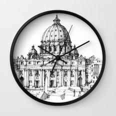 Basilica di S. Pietro a Roma Wall Clock