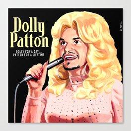 Dolly Patton Canvas Print