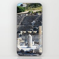 theater iPhone & iPod Skins featuring Theater  by Allisa Thome