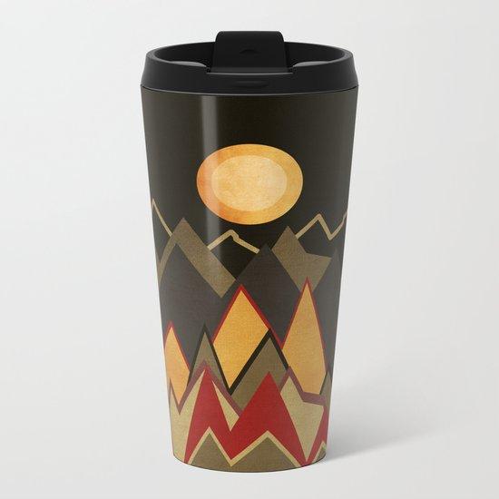 Textures/Abstract 115 Metal Travel Mug