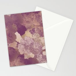 TINTO FLORAL HUES Stationery Cards