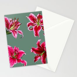 stargazer grid Stationery Cards