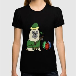 A pug to the past T-shirt