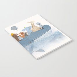 a whale of a time Notebook