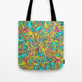 Abstract HJ YY Tote Bag