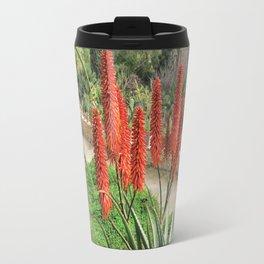 aloe vera blooming Travel Mug