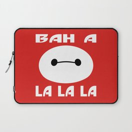 Fist Bumping Robots Laptop Sleeve