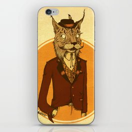 {Bosque Animal} Lince iPhone Skin