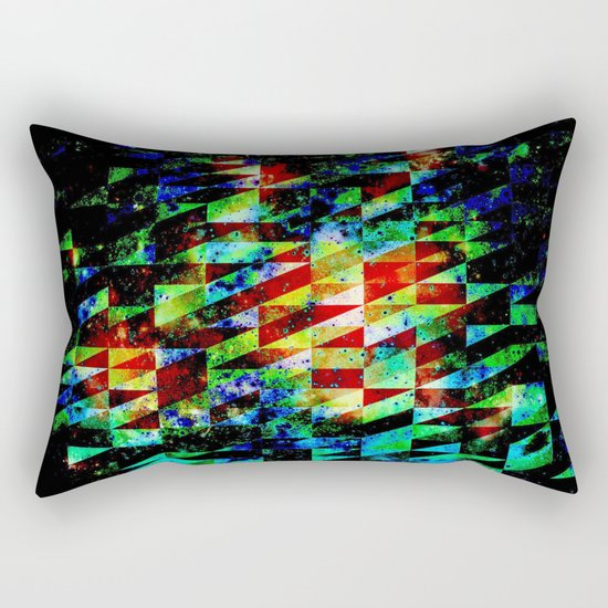 GLITCHES Rectangular Pillow