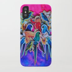 Parrot Party iPhone X Slim Case