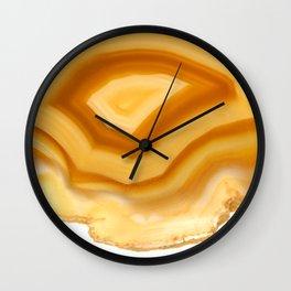 Eye of Horus Agate Wall Clock