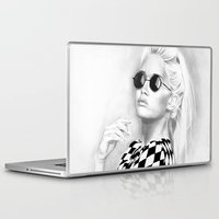 tinker bell Laptop & iPad Skins featuring Bell by donotseemeart