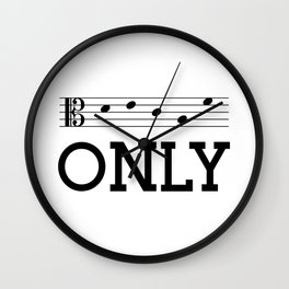 Decaf only (alto version) Wall Clock