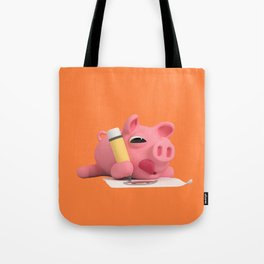Rosa the Pig drawing Tote Bag