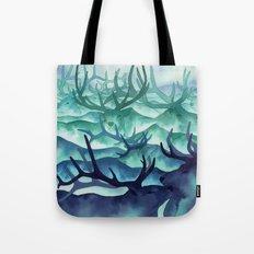 Herding Mountains Tote Bag