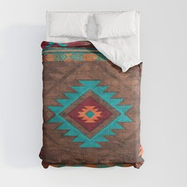 N77 - Boho Farmhouse Berber Moroccan Style Design  Comforters