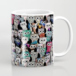 Owl Gem Shrine Coffee Mug