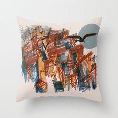 The City pt. 2 Throw Pillow