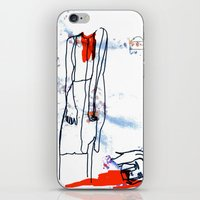dramatical murder iPhone & iPod Skins featuring Murder by Mary Naylor