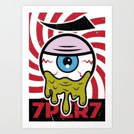 Eye of 7 Art Print