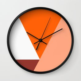 Geometrical retro  Wall Clock