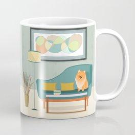 A Pomeranian Makes A House A Home Coffee Mug
