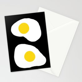 Fried Eggs Sunny Side Up  Stationery Cards