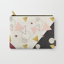 Triangles Mix #society6 #decor #buyart Carry-All Pouch