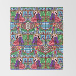 The Brothers Grimm - Snow White Throw Blanket