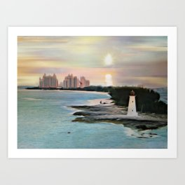The Islands Of The Bahamas - Nassau Paradise Island Art Print